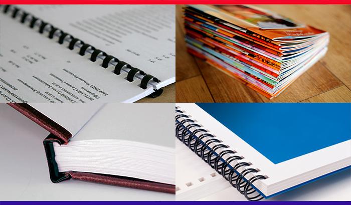 Брошюровка и твердый переплет дипломов и документов Переплётные  Брошюровка и твердый переплет